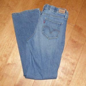 Levi's Perfect Waist Boot Cut 525 Jeans 12 12M